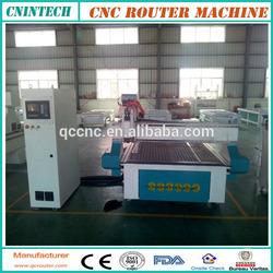 20% profit!Jinan CNINTECH QC1325 heavy duty YASKAWA servo drive 8KW/9KW/12KW air cooling cheap cnc router/woodworking machinery