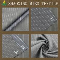 Good handfeeling woven tr red and white pinstripe 1cm grey boldstripe wool fabric M-77061 wool fabric