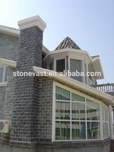 Classical villa nature stone culture slate for wall facade