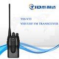 Td-v33 1600mha de la batería PTT ID de dos vías de radio frecuencia scrambler