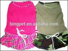 wholesale pet clothes,dog t shirt,pet dress