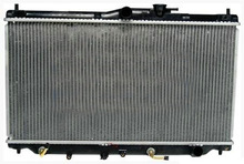 hot sale car racing aluminum radiator for HONDA OE:19010P39901