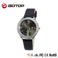 Fancy dress quartz fashion women stainless steel case back vogue design relojes female wrist watches