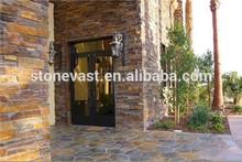 Rustic stone wall cladding /stone raw slate