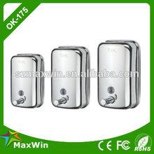 Manual stainless steel 304 garden soap dispenser Hospital, Home, School, Hotel