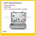 Catv 4 ausgänge cnc-optischen Empfänger/optischen knoten