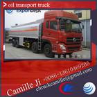 26 CBM Dongfeng 8*4 oil fuel tanker truck ,truck fuel tank ,26 m3 oil transport truck for sale