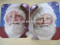santa claus cara máscara de impresión de niños de promoción máscaras de navidad