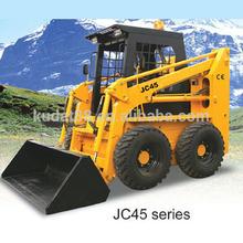 JC45 50hp skid steer loader like bobcat made in china with Hyundai, Perkins and Deutz engine