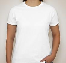 2014 blank white women tshirts