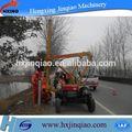 construção da estrada de escavação de fundação de máquina