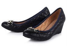 Cheap women wedge shoes factory in guangzhou mature sexy women no heel wedge shoes mid high heel ladies wedge shoes