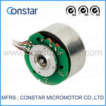 55mm 24V permanent magnet low noise chinese brushless dc car toy motor