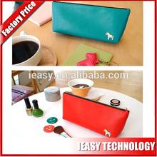 2014 hot-selling free sample name brand cosmetic bag, cosmetic bag brand name wholesale designer