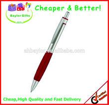 Factory price free refill logo printing pen plastic logo pen ballpoint pen manufacturer