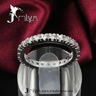Latest gold finger ring designs white gold jewelry Jmiya18KRGPR531