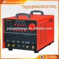 Yayuan qualidade super tig315( e167) tig inversor acdc soldagem trator