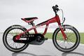 14 pouces. bon vélo enfant avec la roue de formation