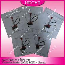 Free shipping Hookah Blast 1000ml 5 flavors herbal incense bag/Custom printed mylar foil packaging bag