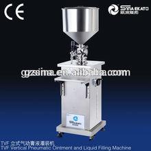 High quality TVF-Semi Piston Filler for One head shower bath filling machine