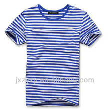 Wholesale cheap 2014 summer latest fashion sailor stripe t shirt