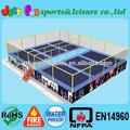 Gimnasia trampolines para la venta, rectangular puente del trampolín