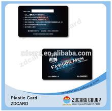high quality pvc gift cards/gift card making/fashion gift card organizer