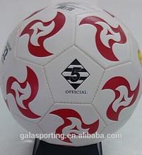 Size 5 match soccer ball/football