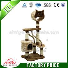 2014 best sale stocked wooden modern cat furniture