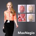 camisas de uniforme wholdsale floral las mujeres camisa formal de los diseños
