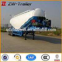 Used bulk cement tank semi trailer