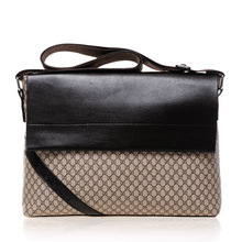 wholesale genuine PU leather bag briefcase bag made in China