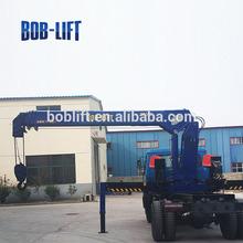 10ton lower cost hydraulic truck mounted crane bridge construction equipment SQ10SA3