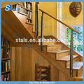 Balustrade en fer pour l'extérieur main courante en bois pour escalier rampe d'escalier