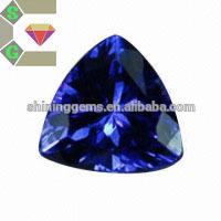 man-made diamond high quality 3x5 trillion cz loose gemstone
