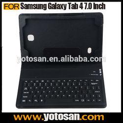 Silicon Wireless Bluetooth for Samsung Galaxy Tab 4 7 7.0 Keyboard Case