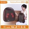 ultra slim shiatsu rolling kneading massage pillow