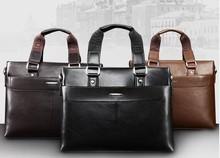 wholesale men leather bag totebag business cases briefcase crossbody bag