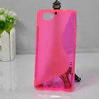 China High Quality S Shape Mobile Phone Case Cover for Sony Xperia A2