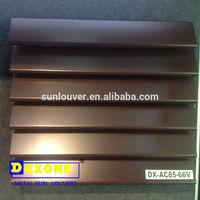 exterior Prefabricated fixed louver