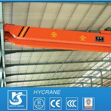 2014 HY For sale single girder bridge cranes wheels workshop wheel mounted travelling beam crane
