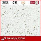 Hot Selling White Sparkle Quartz Floor Tiles QZ800