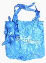 Reusable shopping bag foldable hand bag polyester tote bags