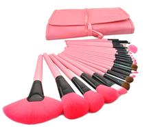 Brand Pink Makeup Brushes Set & Kits 24pcs Make Up Brush Set For Makeup Tools