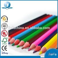 EN71,FSC Certificates Wooden Red Colored Pencils Bulk