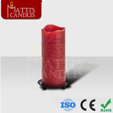Wholesale high-quality wax LED pillar candle