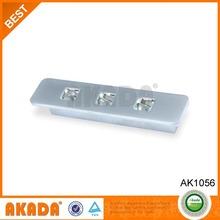 nice looking blue crystal furniture dresser pull handles AK1057