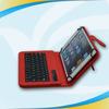 Custom leather cellphone bluetooth keyboard portfolio case for ipad air/5th
