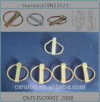 DIN11023 safety lynchpins