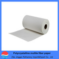 Policristalino mullita de fibra de papel para horno de alta temperatura de aislamiento